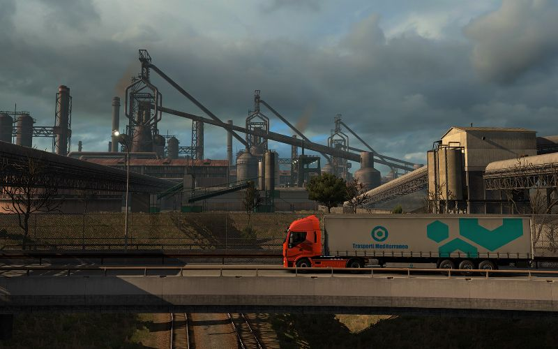 Euro Truck Simulator 2: Italia Full Game