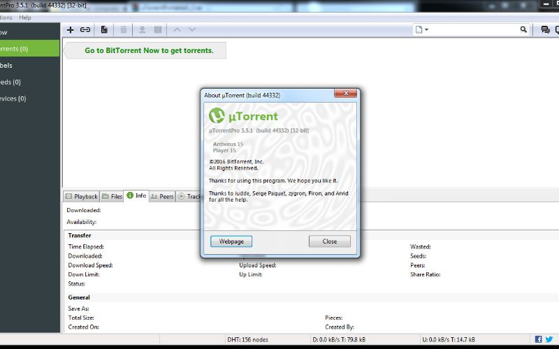 Utorrent free download for pc.