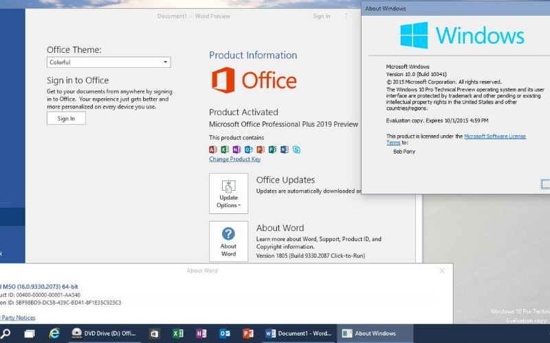 Microsoft Office 2019 (32-bit/64-bit) Download Torrent
